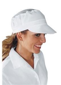 Cappello con rete ISACCO modello 077000